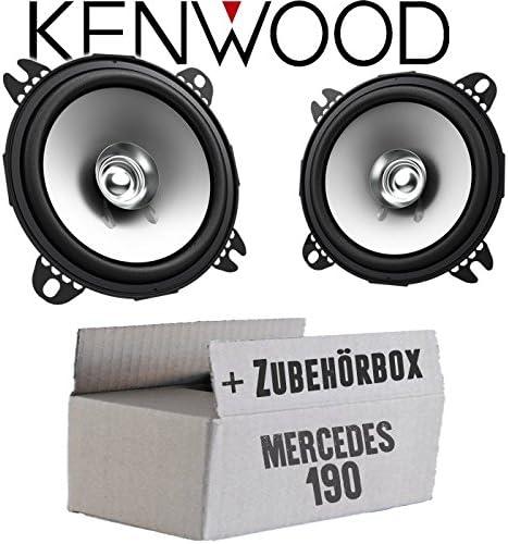 Lautsprecher Boxen Kenwood Kfc S1056 10cm Koax Auto Einbauzubehör Einbauset Für Mercedes 190 W201 Front Just Sound Best Choice For Caraudio Navigation