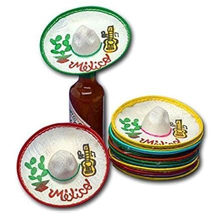 Amazon Com Mini Mexico Sombreros Dozen By Jdprovisions Toys Games