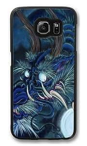 Blue Dragon PC Case Cover for Samsung S6 and Samsung Galaxy S6 Black wangjiang maoyi