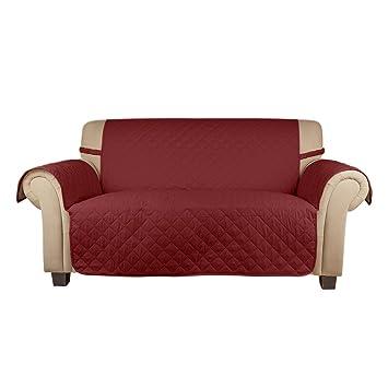 Dreier Sofa amazon de auralum sesselauflage sesselbezug überwurf