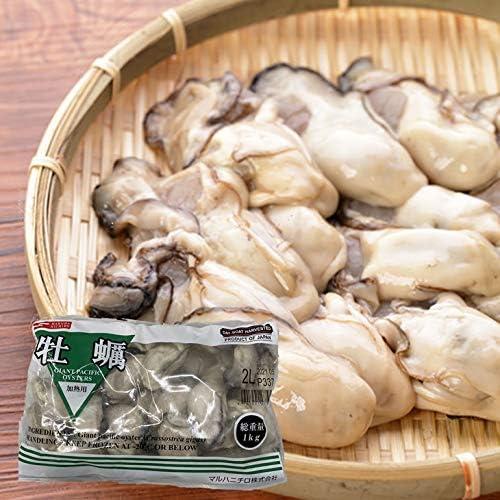 冷凍生牡蠣 加熱用 2Lサイズ