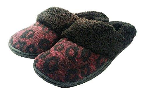 Dearfoams Women's Slippers Size: Medium( 7-8) Color: blac...