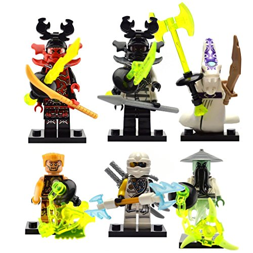 The 8 best lego ninjago minifigures
