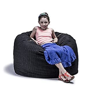 Denim 3-foot Bean Bag Chair