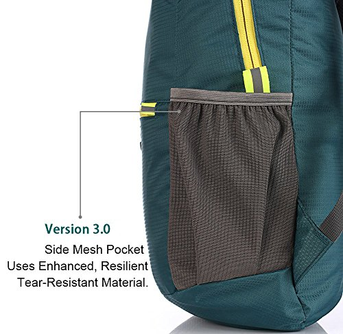 Hikpro 20L - The Most Durable Lightweight Packable Backpack, Water Resistant Travel Hiking Daypack For Men & Women by HIKPRO (Image #4)