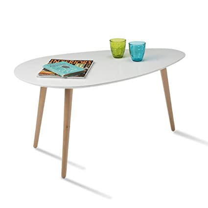 Durian CALVIN Coffee Table Matte Finish White Amazonin Home - Calvin coffee table