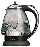 Capresso 259 H2O Plus Glass Water Kettle, Polished Chrome