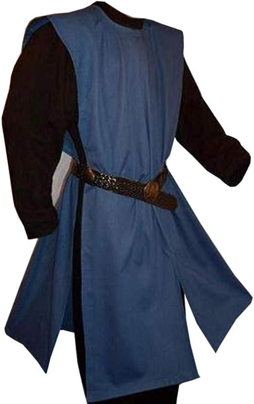 Amazon.com: Cicy Bell - Túnica medieval para hombre, trajes ...
