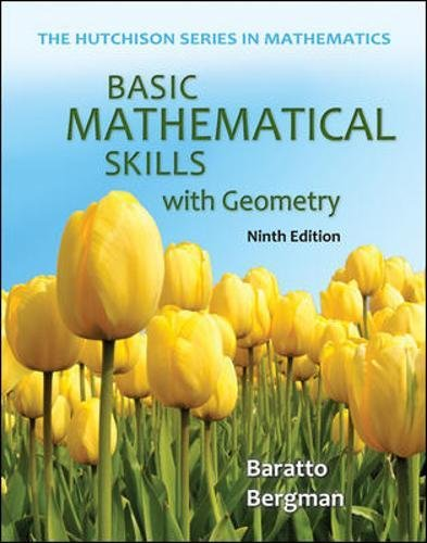 Basic Mathematical Skills with Geometry (The Hutchison Series in Mathematics)