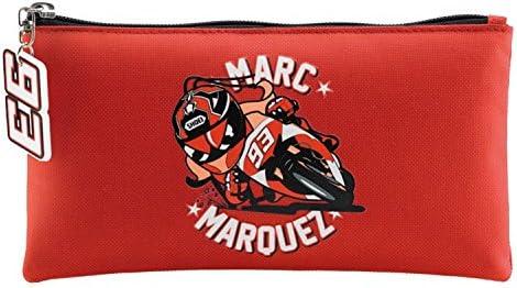 Miquel Rius 18162 - Portatodo plano Marc Márquez mm93, color rojo: Amazon.es: Oficina y papelería