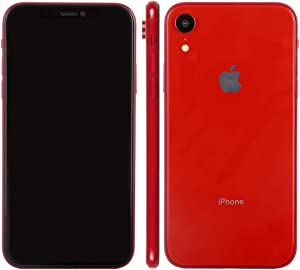 Apple iPhone XR, 128GB, Red - Fully Unlocked (Renewed)