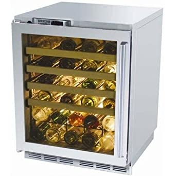perlick built in cseries 24 inch wine cooler with stainless glass door hinge right - Built In Wine Fridge
