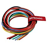 600 volt wire - BNTECHGO 16 Gauge Silicone Wire Kit Ultra Flexible 7 Color High Resistant 200 deg C 600V Silicone Rubber Insulation 16 AWG Silicone Wire 252 Strands of Tinned Copper Wire Stranded Wire Battery Cable