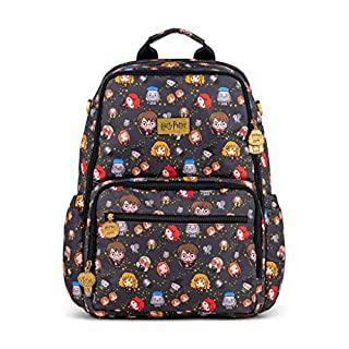 JuJuBe x Harry Potter Zealous Backpack | Lightweight Travel-Friendly Stylish Diaper Bag or Backpack Changing Pad Included | Cheering Charms