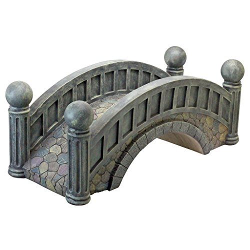 Amazon.com : Design Toscano The Halfpence Cobble Stone Bridge Statue : Garden  Bridges : Garden U0026 Outdoor