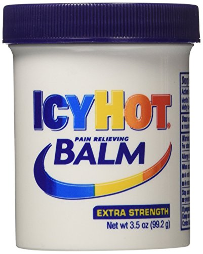 - Icy Hot Extra Strength Pain Relieving Balm, 3.5 Ounce (Pack of 4)