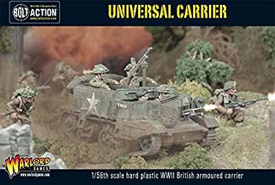 Universal Carrier, plastic boxed set, Bolt Action Wargaming Miniatures from Warlord Games