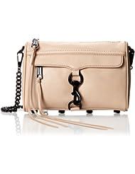 (新低)瑞贝卡女士真皮斜跨包 折后$117.00 Rebecca Minkoff Cross-Body Handbag