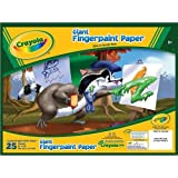 Giant Fingerpaint Paper Pad 25 pages (40 cm x 30 cm
