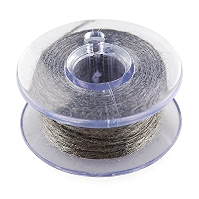 Conductive Thread Bobbin - 30ft (Stainless Steel): Toys & Games
