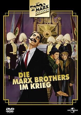 Die Marx Brothers Im Krieg Amazonde Groucho Marx Harpo Marx