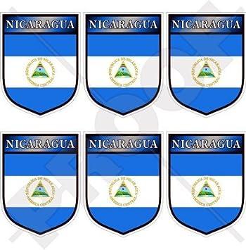 "Nicaragua nicaraguense Shield América Central (40 mm 1,6 "") Funda para"