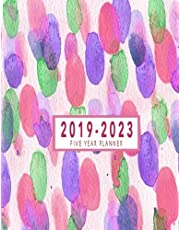 Five Year Planner 2019-2023: 2019-2023 Monthly Planner | 2019-2023 Five Year Planner | 2019-2023 Calendar | Five Year Planner 8.5 x 11 Planner At A Glance | 2019-2023 Five Year Planner Monthly Schedule Organizer