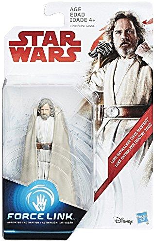 Star Wars: The Last Jedi Luke Skywalker (Jedi Master) Force Link Figure 3.75 Inches ()