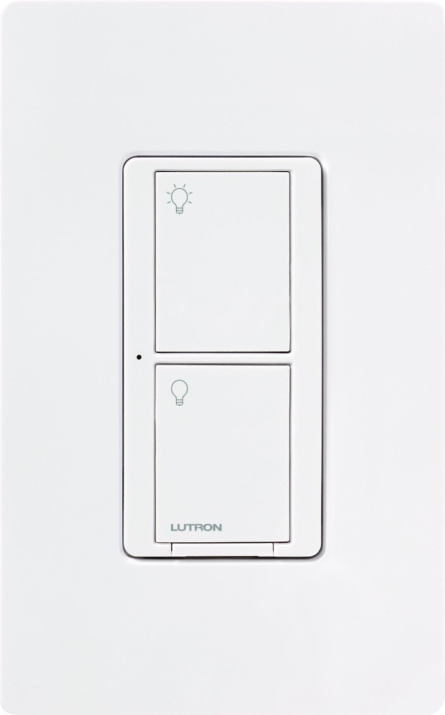 Lutron Pd 6ans Wh Caseta 6a Neutral Switch Electrical Distribution Way Light Uk Wiring Double Pole Switcher 6 Amp White