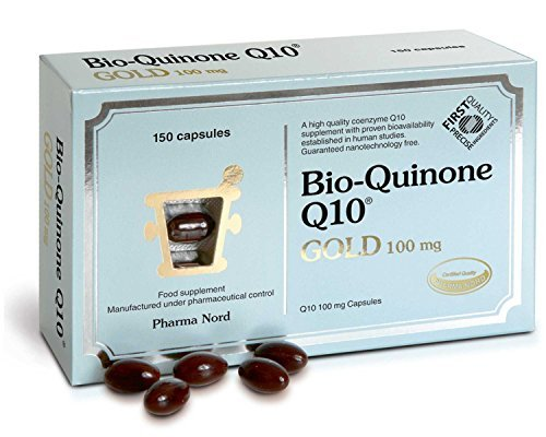 100 Mg Twin Pack - Bio-quinone Q10 Gold 100mg (150 Capsules) - x 2 *Twin DEAL Pack* by Pharma Nord