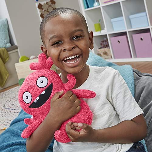 "Hasbro Uglydolls Feature Sounds Moxy, Stuffed Plush Toy That Talks, 11.5"" Tall"