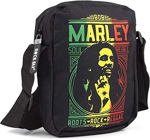 Bob Marley Roots Rock Crossbody Bag
