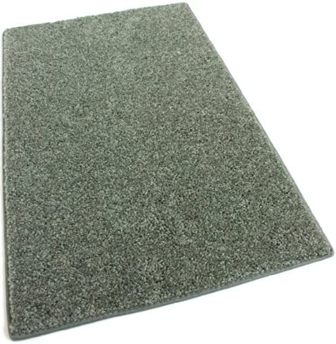 Koeckritz 12 x16 Sage Leaf 30 oz Durable Cut Pile Area Rug. Multiple Sizes and Shapes to Choose from.