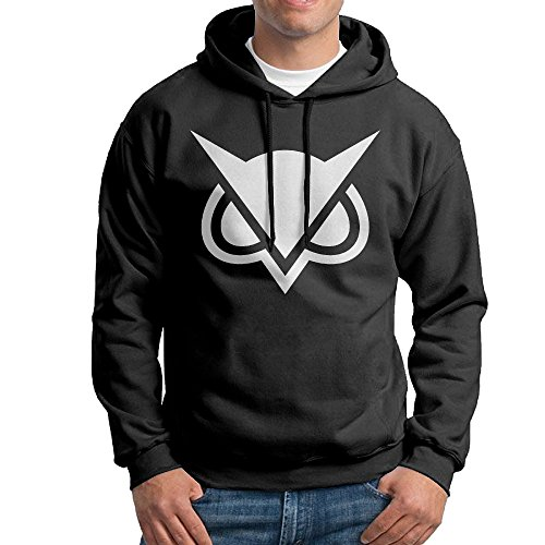 NVVM Men Video Game Commentator Pullover Casual Hoodie XL