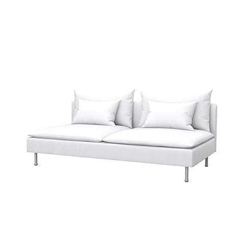 Soferia - IKEA SÖDERHAMN Funda para sofá Cama, Eco Leather ...