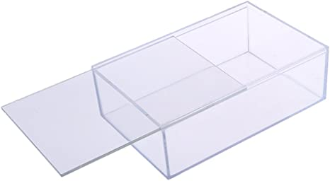 Acryl Schaukasten Acryl Vitrine Display Case Staubdicht für Auto Modell