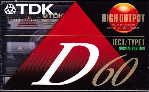Great Deal! TDK D60 60-Minute Cassettes: 5-Pack
