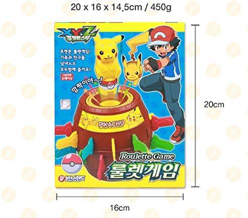 Pokèmon Pikachu Ruleta Juegos De Mesa 24 De La Pop-Up Excitada: Amazon.es: Juguetes y juegos