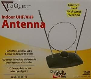 TriQuest Indoor UHF / VHF / FM / HDTV / Digital TV Antenna