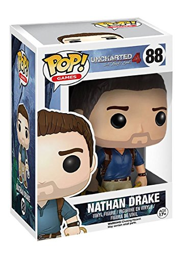 Funko POP Games: Uncharted Action Figure - Nathan Drake