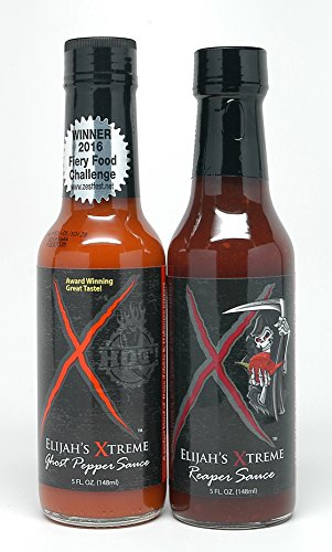 (Elijah's Xtreme 5 Oz. Variety 2-Pack (Ghost Pepper and Reaper))
