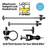 Pinhead Bicycle Locking Skewer Set, 4 Piece