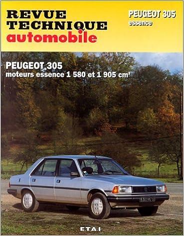 En ligne Revue technique de l'Automobile numéro  441.5 :  Peugeot 305, GR, SR, 1986-1989, GT, GTX, automatique 1983-1989 epub pdf