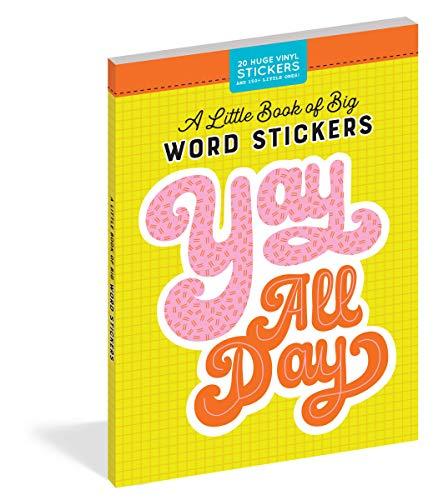 A Little Book of Big Word Stickers (Pipsticks+Workman)