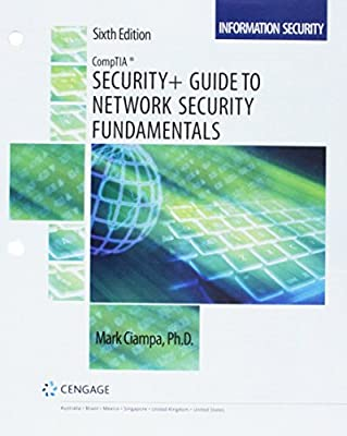 Bundle: CompTIA Security+ Guide to Network Security Fundamentals, Loose-Leaf Version, 6th + MindTap Information Security, 1 term (6 months) Printed Access Card