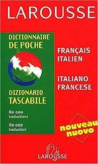 Dictionnaire de poche : Italien/français, français/italien par Giovanni Picci