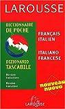 Dictionnaire de poche : Italien/français, français/italien par Picci