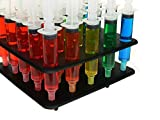 25 Pack EZ-Inject Jello Shot Syringes Combo Kit (Includes Tray/Racking Stand) (Small 1 oz)