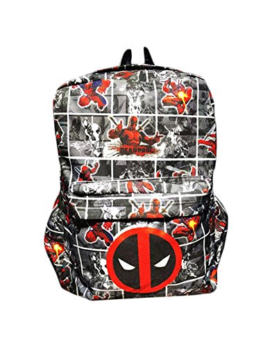 [Marvel Deadpool Logo Superhero Comic Cartoon Theme Canvas 18
