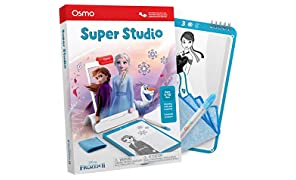 Osmo - Super Studio Disney Frozen 2 Game - Ages 5-11 - Learn to Draw Elsa, Anna, Olaf & more Favorites & Watch them Come to Life - For iPad or Fire Tablet (Osmo Base Required)
